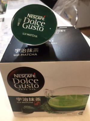 ドルチェグストの宇治茶