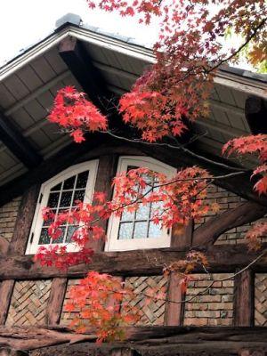 大山崎山荘紅葉